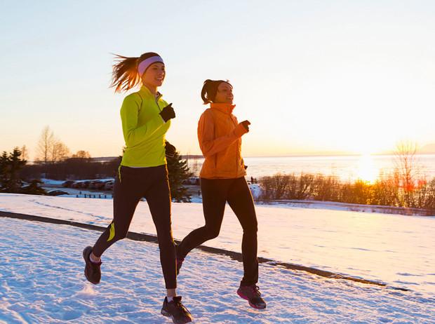 Правила бега в холодное время года | Marie Claire